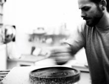 lee turner - graining a stone
